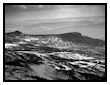 Black and White View from Stanage Edge