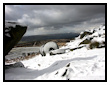 Winter Snow at Stanage Edge